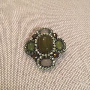 Vintage-inspired pin; one of a kind. New Orleans